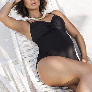 CACHE COEUR Monaco One-Piece Maternity Swimsuit